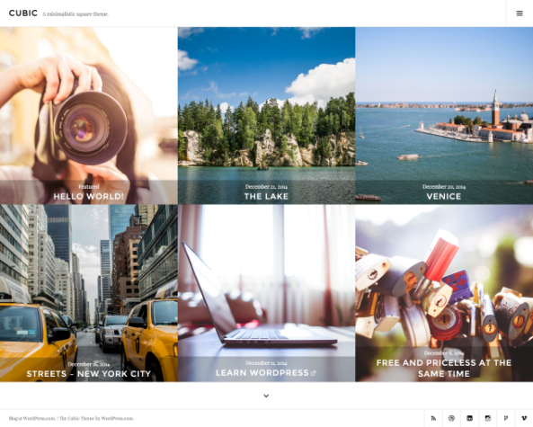Cubic: Homepage